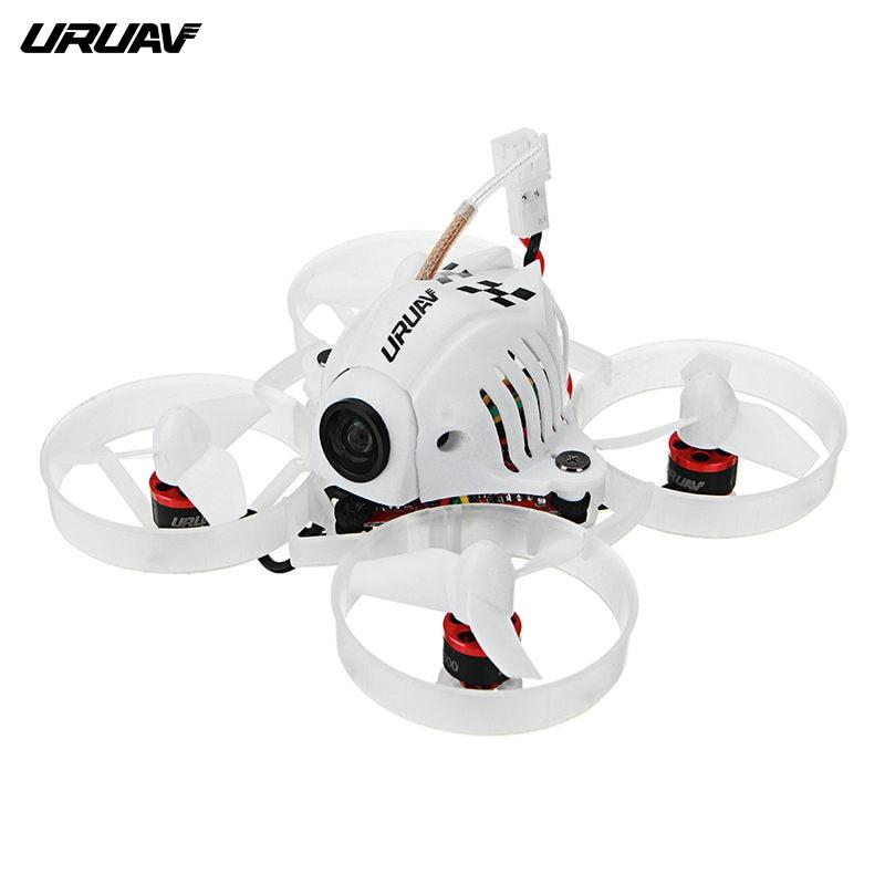URUAV UR65 65mm FPV drone de course BNF Crazybee F3 contrôleur de vol OSD 5A Blheli_S ESC 5.8G 25 mW VTX quadcopter rc VS Minuscule 6x 7x