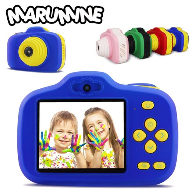 Marumine 12.0 Mega Piexl Câmera HD Câmera Digital Crianças Brinquedo Eletrônico com Câmeras Duplas AI Inteligente Ajuste de Fotografia