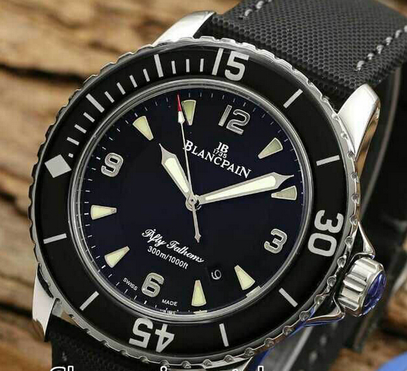 New Luxury Brand Blancpain Fifty Fathoms 50 Fathoms 5015 1130 52