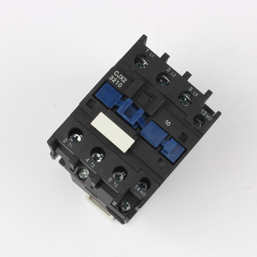 CJX2-3210 LC1 3210 ac contactor 380V AC 32A 50HZ/60HZ orginal lc1-3210 380V 220V 110V 48V 36V 24V 12V