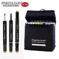 Pincel de marcadores a base de Alcohol con punta Dual 24/36/60/72 dibujo gráfico de colores boceto de Diseño Técnico marcador Set Ef102