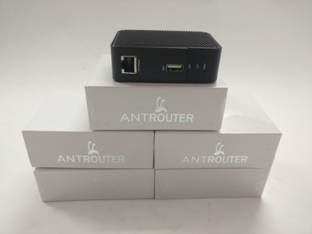 Ant Router R1-LTC Miner 1.29MH/s  And Also  Is A 2.4G Wireless Router Have BM1485 ASIC Chip Original Bitmain For LTC Mining