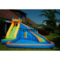 inflatable water slide bouncer,inflatable moonwalk, inflatable slide, water slide,moonwalk, moon bounce, inflatable water park