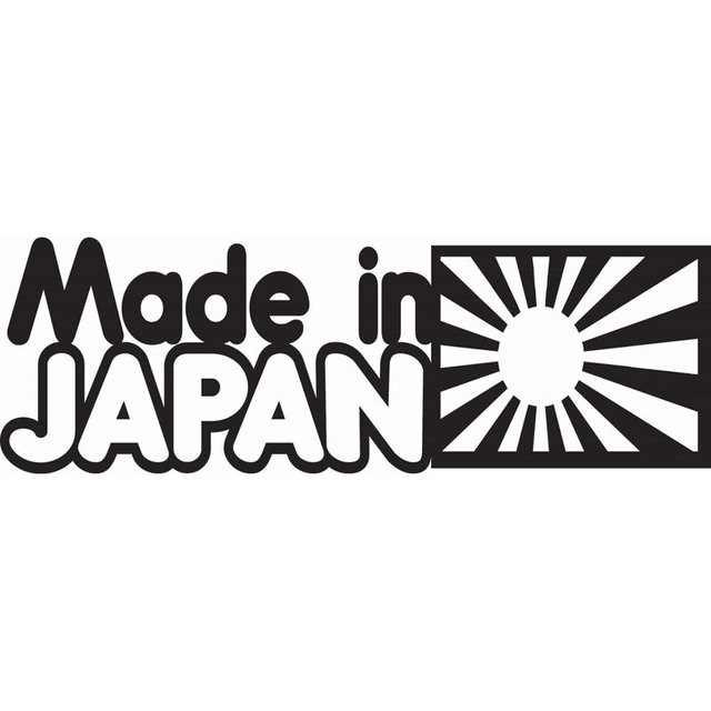16cm5 4cm made in japan car decal funny vinyl sticker jdm racing car stickers