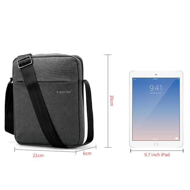 5df11b9a734a Online Shop Tigernu Brand Men Messenger Bag High Quality Waterproof Shoulder  Bag For Women Business Travel Crossbody Bag