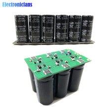 16V 20F Ultracapacitor Motore Batteria di Avviamento Auto di Richiamo Super Condensatore # Fila Singola/Doppia Fila 6 Pcs 2.7V 120F Condensatori