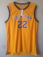 2018 New Mens Cheap Throwback Basketball Jerseys 22 Quincy McCall Crenshaw High School Yellow Movie Retro