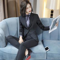 2018 модные женские туфли Для женщин блейзер большие размеры для Для женщин Дамы Куртки и блузка пиджаки пальто брючный костюм набор 2 3 4 5 шт
