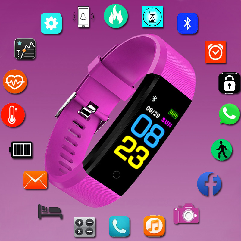 Sport Bracelet Smart Watch Kids Watches Children For Girls Boys Wach Smart Clock Brand Fitness Tracker Smartwatch Child GiftsSport Bracelet Smart Watch Kids Watches Children For Girls Boys Wach Smart Clock Brand Fitness Tracker Smartwatch Child Gifts