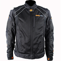 Motocross Jacket Riding Tribe Titanium Alloy Hard Shell Motorcycle Racing Jacket Moto Jacket With 7pcs Protectors