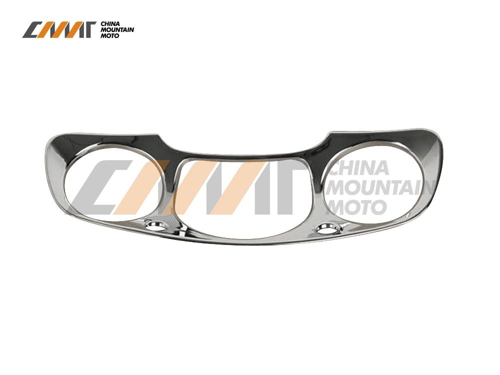 Chrome Speedometer Gauges Cover case for Honda GL1800 GOLDWING 2001-2005 02 03 04