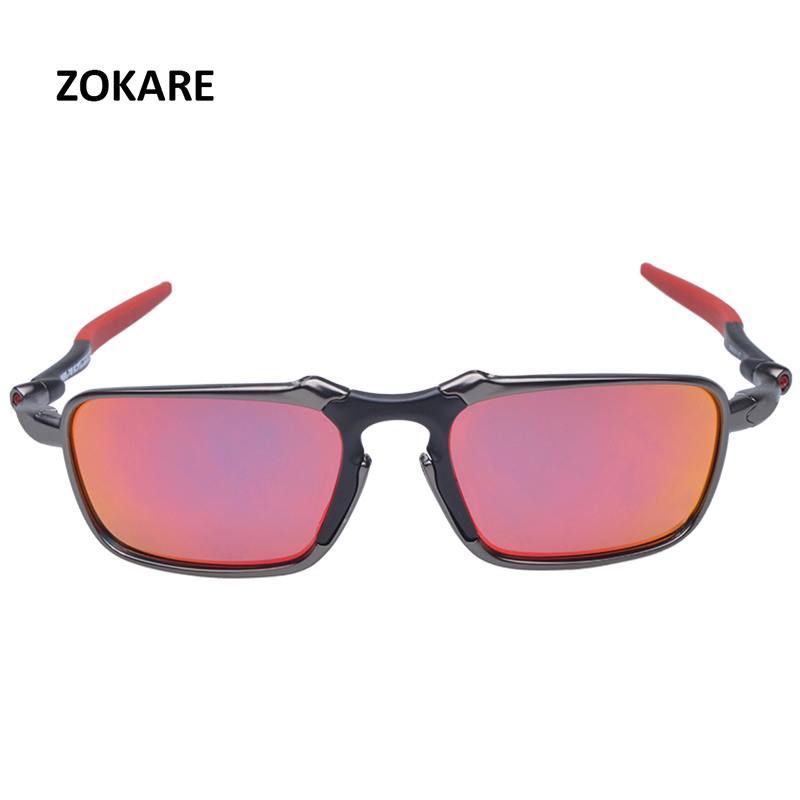 ZOKARE Protecting Cycling Glass Polarized Sunglasses Alloy Frame Cycling Googles Eyewear With Logo oculos de sol OO6020 недорго, оригинальная цена