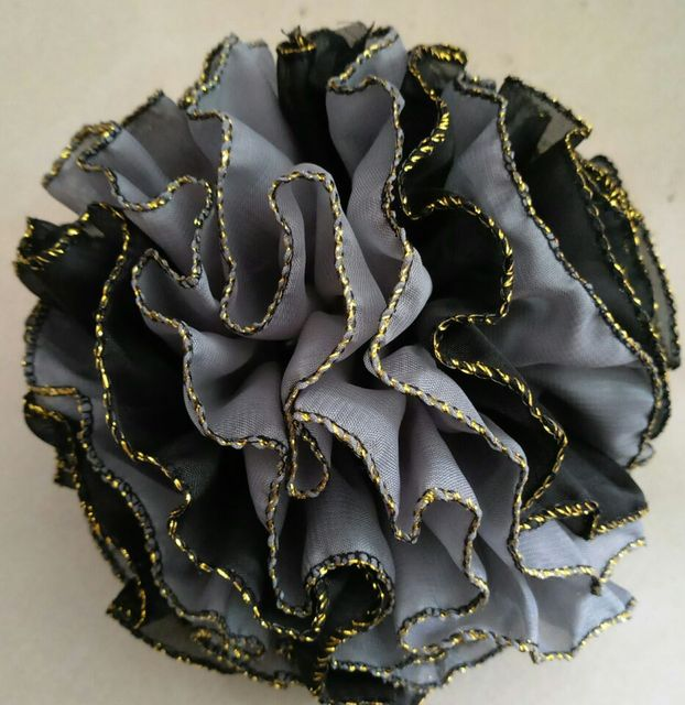 39d136ce70 hot sale big flower hijab clip volumising claw islamic flower fascinators hair  flower ornament
