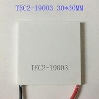 더블 레이어 반도체 냉각 시트 TEC2-19003 전원 12V3A 30*30mm 큰 온도차 80도