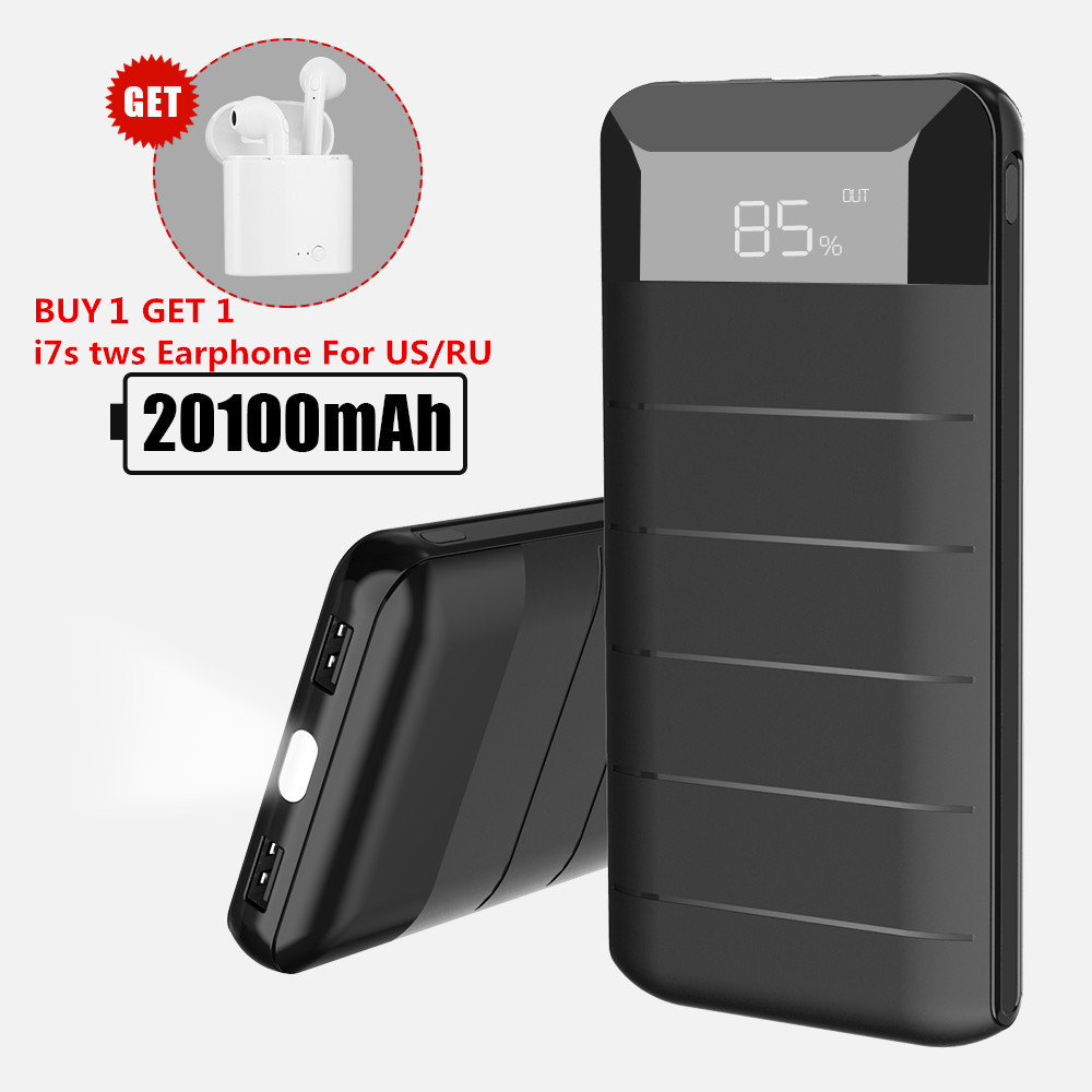 20100mAh Power Bank External B...