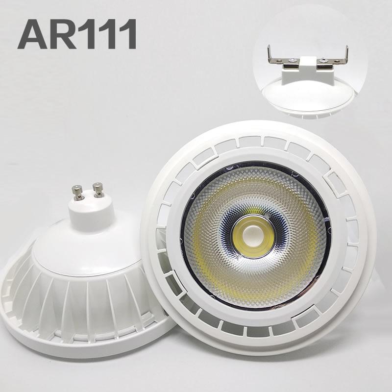 Высокое качество ультра яркий AR111 20 Вт COB Светодиодный точечный светильник AR111 QR111 G53 светодиодный светильник с регулируемой яркостью светод...