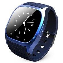 Montre Bluetooth Smart Uhr M26 smartwatch mit Led-anzeige Barometer Alitmeter Schrittzähler für Android IOS XiaoMi Telefon