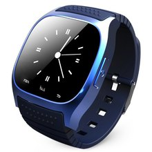 Montre Bluetooth Smart часы M26 SmartWatch со светодиодной Дисплей барометр alitmeter шагомер для iOS и Android Xiaomi телефон
