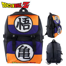 Anime Cartoon Dragon Ball Z son goku Backpack Shoulder Bag Halloween Cosplay Schoolbag Rucksack Christmas Gift Bag(China)