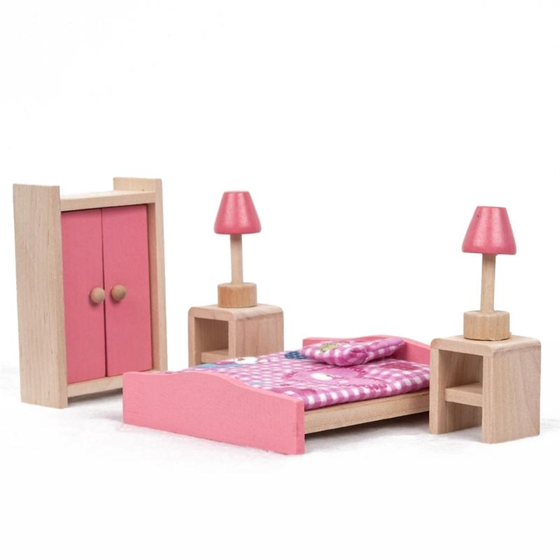 Kids Bedroom Furniture Kids Wooden Toys Online: Aliexpress.com : Buy Wooden Doll House Bedroom Furniture