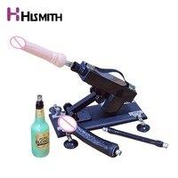 Hismith Vibrator Sex machine for Women Men with dildos Vagina cup Extension Rod US UK AU EU Russia Plug