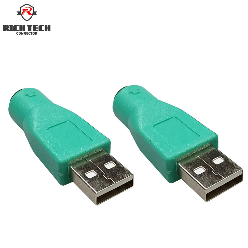 SeccióN Especial 8 Piezas Usb Am Macho A 7pin Ps2 Hembra Jack Adaptador Pc Ratón De Teclado Cable Convertidor De Cable Usb Am-7pin Ps2