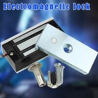 Новый Электрический магнитный замок 60 кг домашняя система безопасности прочный для двери доступа XSD88