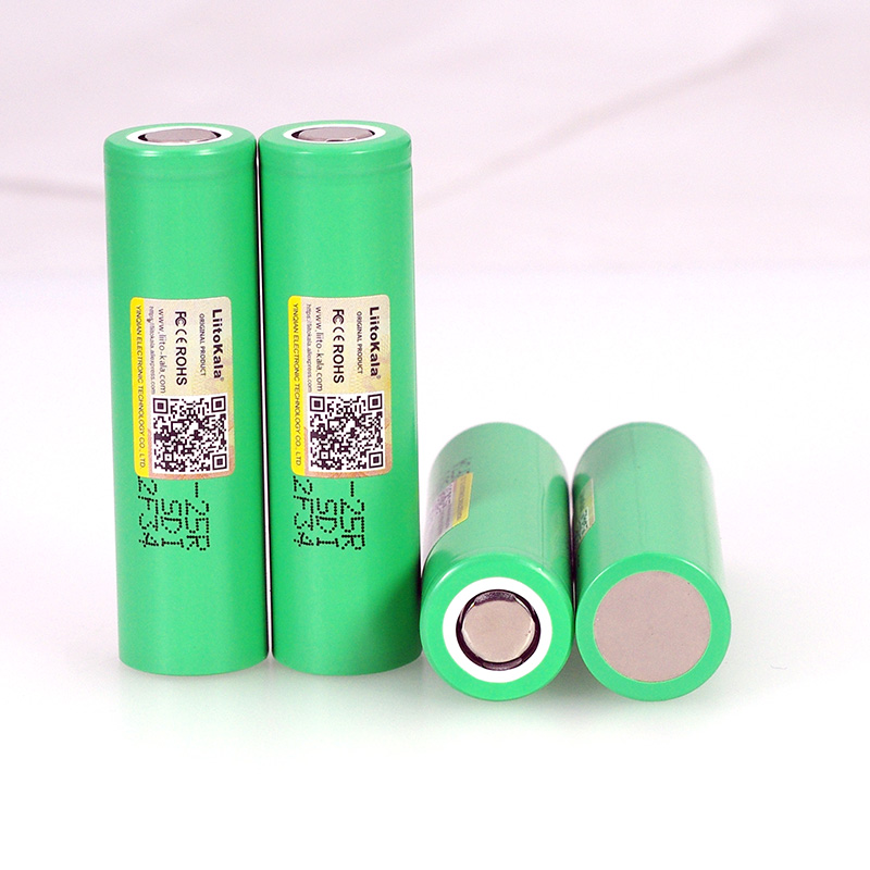 Image 5 - LiitoKala  18650 2500mAh Rechargeable Battery INR1865025R 3.6V discharge 20A dedicated For E cigarette batteries-in Replacement Batteries from Consumer Electronics