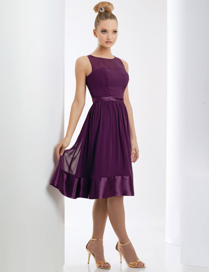 Popular Short Chiffon Bridesmaid Dresses-Buy Cheap Short Chiffon ...