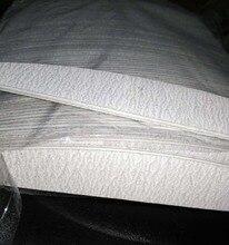 150/ 150  50 PCS/Lot Zebra Moon Cushion Nail File Nail Art  Board Nail File Sanding Files Manicure Pedicure #44NFE
