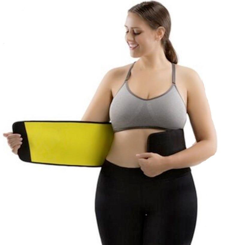 7b73242913 Hot Sale Women s Shaper Neoprene Abdominal Slimming Belt Sweat Sauna  Neoprene Shaper Belts Hot Body Shapers Waist Trainer Corset