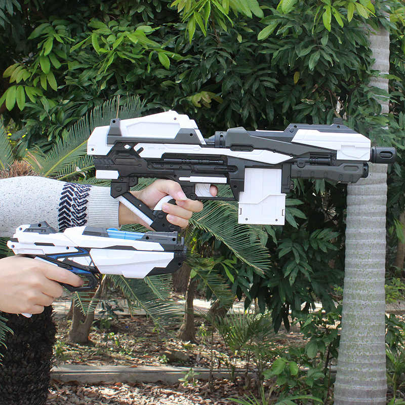 انفجار الكهربائية رصاصة طرية بندقية السلامة دارت الناسف مسدس اطلاق النار هدايا للأطفال مسدس لعبة في الهواء الطلق CS لعبة أطفال تأثيري سلاح