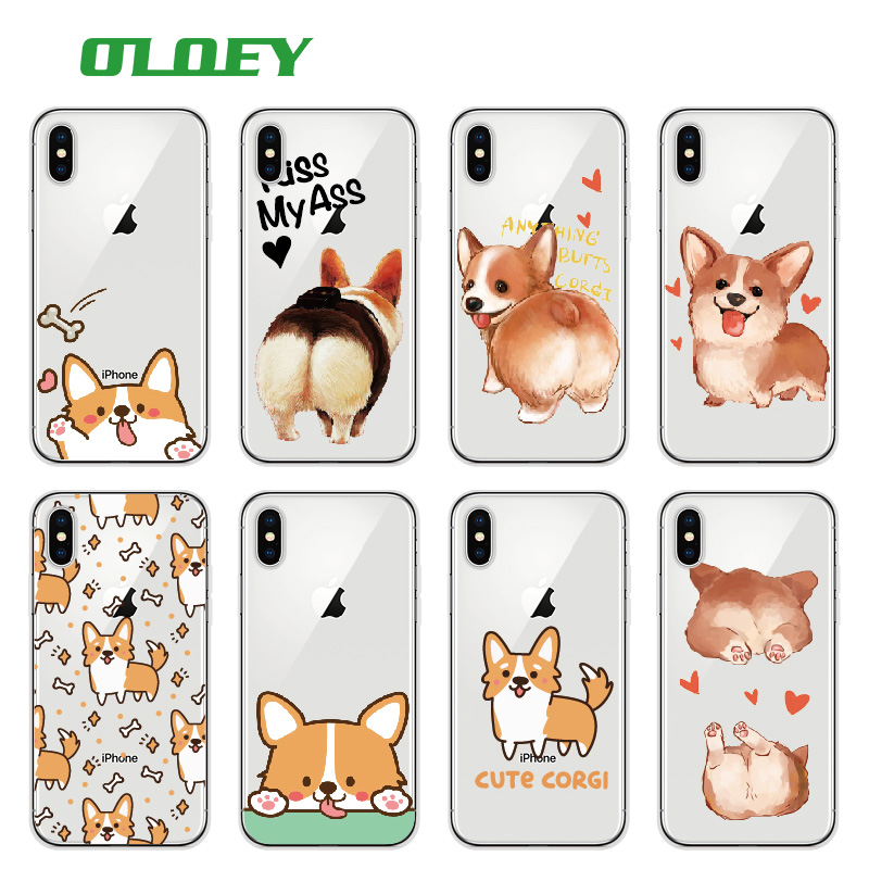 Boys' Shoes Smart Cute Ass Mickey Mouse Butt Dog Cat Duck Clear Soft Tpu Cover Case For Iphone Xs Max Xr X 8 6 6s 7 Plus