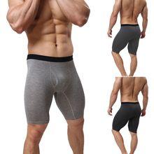 Shorts Athletic-Compression Sport Breathable Quick-Dry Men's Cotton Plus-Size Mid