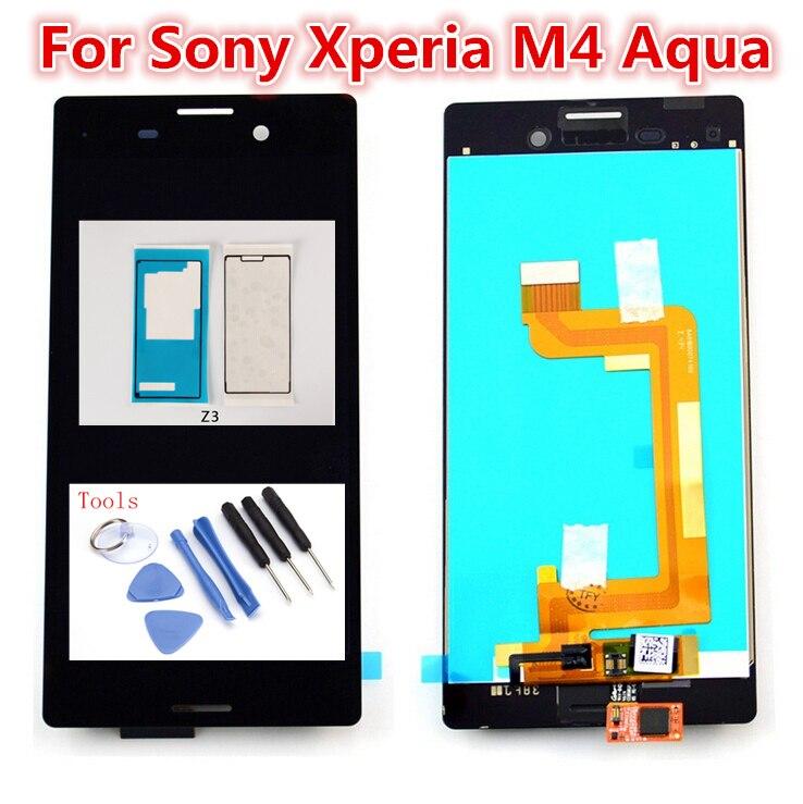5.0inch Original Touch Screen For Sony Xperia M4 Aqua E2303 E2306 E2353 E2312 E2333 E2363 LCD Display Digitizer Panel Assembly