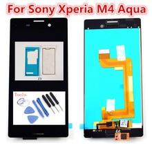 цена на 5.0inch Original Touch Screen For Sony Xperia M4 Aqua E2303 E2306 E2353 E2312 E2333 E2363 LCD Display Digitizer Panel Assembly