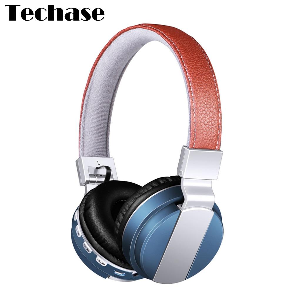 Techase Sports Headband Wireless+Wired Headphones Bluetooth Earphone For Xiaomi Phone Support TF Card FM Radio Fone De Ouvido ttlife portable mini bluetooth 4 1 earphones car phone charger dock wireless headphones airpods for iphone xiaomi fone de ouvido