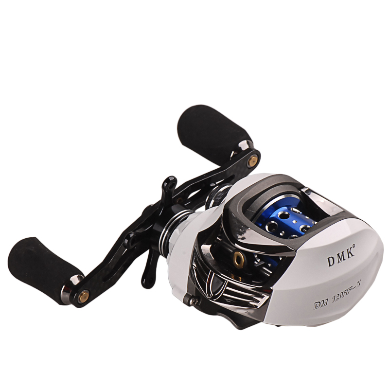 Baitcasting Fishing Reel 13+1BB/Gear Ratio7.0:1 L/R 2 Spools Fishing Reels Molinete Peche Carretilha Carretes Pesca Round Wheel rover drum saltwater fishing reel pesca 6 2 1 9 1bb baitcasting saltwater sea fishing reels bait casting surfcasting drum reel