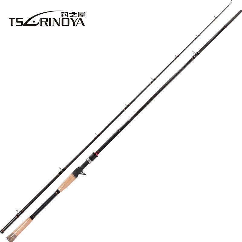 TSURINOYA LEOPARD II 802HC 2Secs 2.4m Casting Fishing Rod Power H 8-30g(0.28-1.06oz) FUJI Accessories 3A Cork Handle Lure Rods