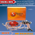 newest version sigma box with 9 cables with Pack 1 activation for t MTK-based Motorola Alcatel Huawei ZTE For  Lenovo