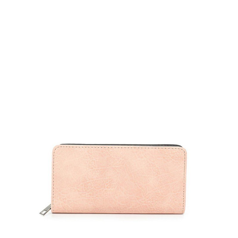 Wallets MODIS M181A00451 for female women wallet woman clutch coin purse TmallFS women men genuine leather double zipper wallet clutches card holder phone bags coin bags