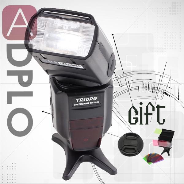 Buy 1 get 2 gift ! Triopo TR-982 II master TTL speedlite 1/8000 HSS flash light suit for Canon 7D Mark II 5D Mark III 650D bosch 2607019327