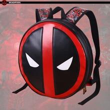 Le Marvel Deadpool Sacs À Dos Mochila Masculina Super Hero Ordinateur Portable Sacs Hommes Bagpack Unisexe École Bucksack