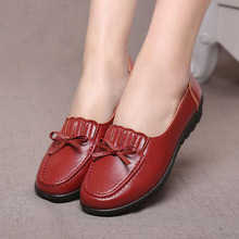 Moccasins Mother Loafers Soft Leisure Flats Female Driving