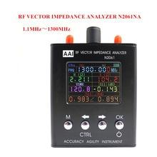 N2061SA Fale Krótkie Anteny Analizator zakres Częstotliwości 1.1 MHz ~ 1300 MHz odporność/impedancja/SWR/s11 (ulepszona wersja dla N1201SA)