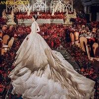 Французское Королевское свадебное платье v образный вырез сексуальное бисерное 150 см длинный шлейф винтажное свадебное платье плюс размер