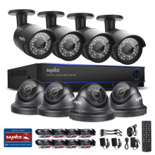 SANNCE 1080N 16CH DVR Video 1200TVL IR Day Night Home Surveillance Camera System
