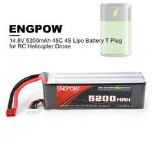 14.8V  25C/60C 4S 1P Power Lipo Battery T Plug Rechargeable for RC Racing Drone Quadcopter Helicopter Airplane tcb rc drone lipo battery 4s 14 8v 2200mah 25c for rc airplane car helicopter akku 4s batteria cell free shipping