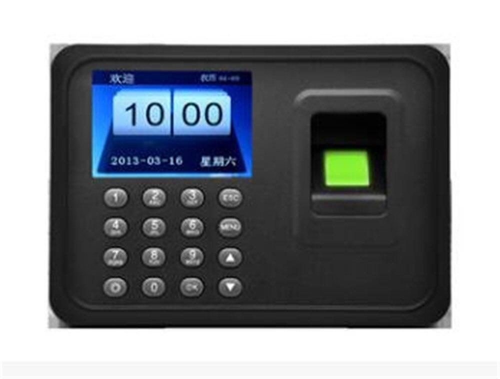 Biométrique d'empreintes digitales Usb temps présence horloge enregistreur employé numérique électronique RFID lecteur Scanner capteur