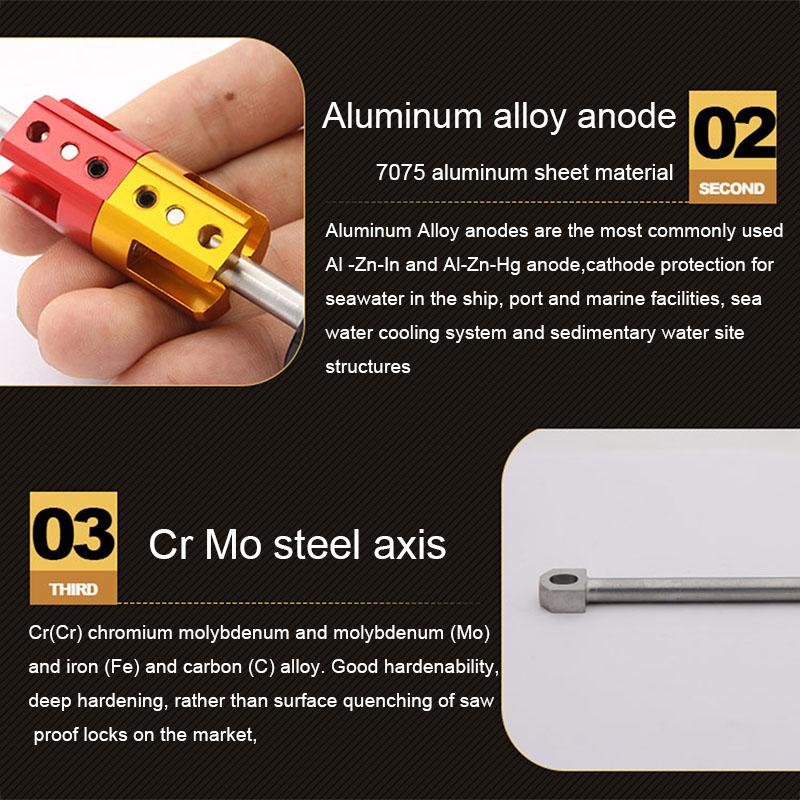 Aluminum Invisible Bicycle Repair Tool Set